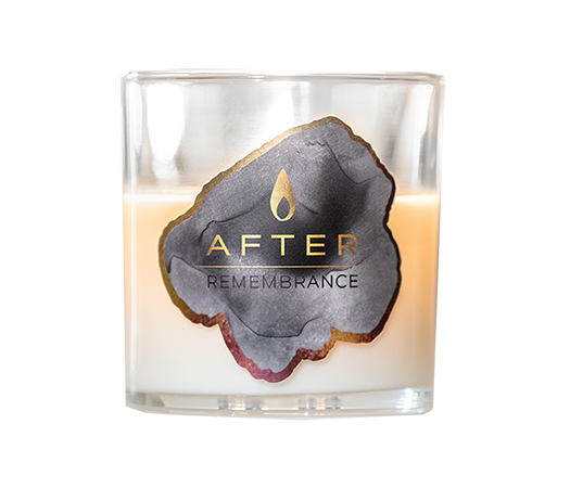 The AFTER Company Remembrance Sympathy Box - Candle