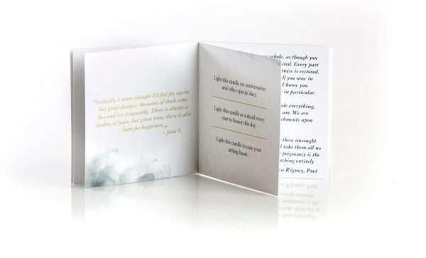 Remembrance Sympathy Inspirational Booklet
