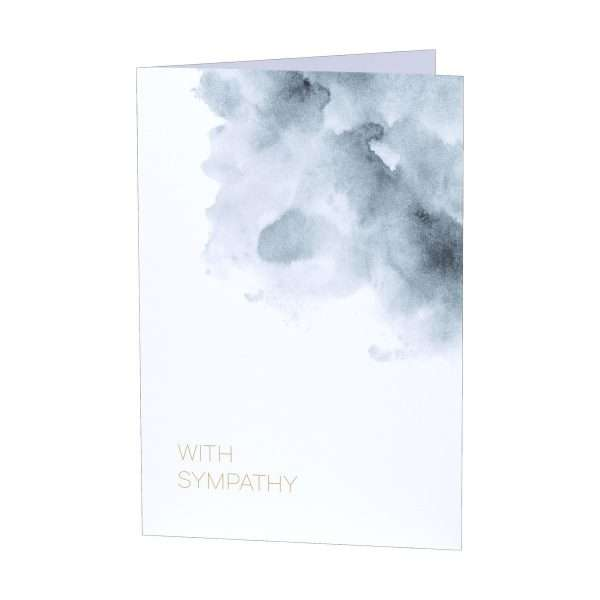 The AFTER Company Sympathy Card Included Front